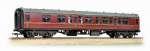 Bachmann Branchline 39-126F BR Mk1 CK Composite Corridor Maroon - Weathered (1)
